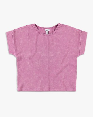 Splendid Girl Mineral Wash Rib Top