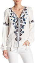 Parker Perry Embroidered Blouse