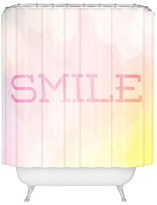 DENY Designs Smile Shower Curtain