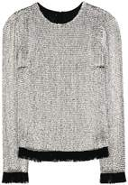Tom Ford Embellished silk top