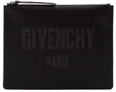 Givenchy Logo-print Canvas Pouch