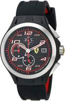 Ferrari Men's 0830015 Lap Time Analog Display Quartz Blue Watch