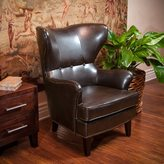 Christopher Knight Home Warner Bonded Leather High Back Chair