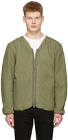 Saturdays NYC Green Khari Liner Jacket