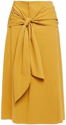 Brunello Cucinelli Knotted Cotton Skirt