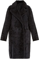 Yves Salomon Single-breasted shearling coat