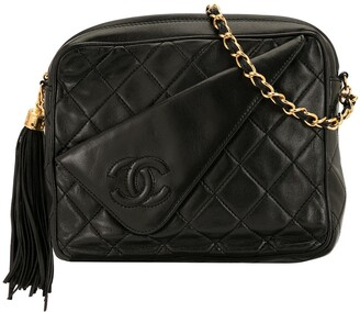 Chanel Pre-Owned diamond quilted flap shoulder bag