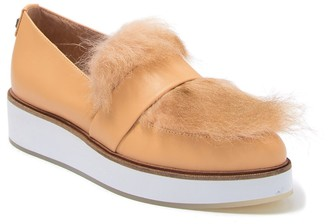 Australia Luxe Collective Genuine Shearling Slip-On Creeper Loafer