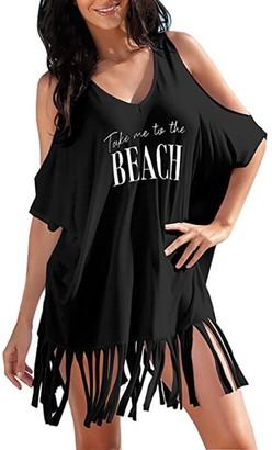 Toamen Women's Mini Dress Take me to The Beach