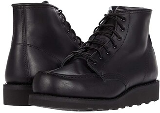 Red Wing Shoes 6 Classic Moc (Black Boundary 1) Women's Lace-up Boots