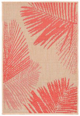 """Liora Manné Terrace 1792/17 Palm Coral, 35""""x23""""x0.13"""""""