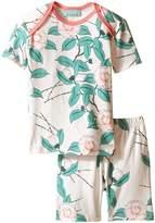 BedHead Kids Short Sleeve Short Bottom Pajama Set (Infant)