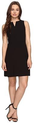 Kensie Stretch Crepe Dress KS3K928S (Black) Women's Dress