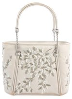Judith Leiber Embellished Satin Evening Bag