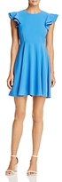 Aqua Ruffled Fit-and-Flare Dress - 100% Exclusive