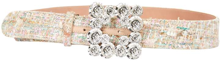 Blumarine Button Buckle Belt