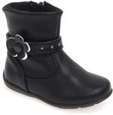 Laura Ashley Black Flower Boot
