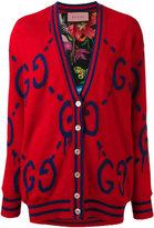 Gucci GucciGhost wool cardigan - women - Silk/Wool - S