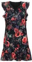 DECJUBA Alisha Drop Waist Ruffle Dress