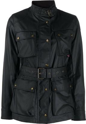 Belstaff Belted Single-Breasted Coat