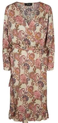Mos Mosh - Chita Weave Dress in Vintage Rose - medium