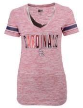 New Era Women's St. Louis Cardinals Space Dye T-Shirt