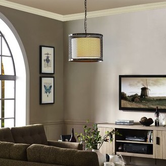 Orren Ellis Roche 1 - Light Single Drum Pendant