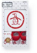 Original Penguin Baby Circle Logo Gift Set 0-6 Months
