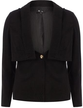 Dorothy Perkins Black layered blazer