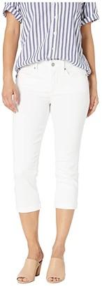 NYDJ Petite Petite Chloe Capri Jeans in Optic White (Optic White) Women's Jeans