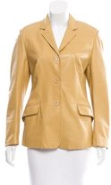 Piazza Sempione Textured Three-Button Blazer