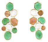 Ippolita 18K Polished Rock Candy Deco Pisa Earrings