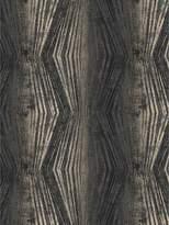 Boutique Vermeil Stripe Charcoal Wallpaper