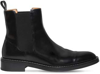 Ami Alexandre Mattiussi Polished Leather Chelsea Boots