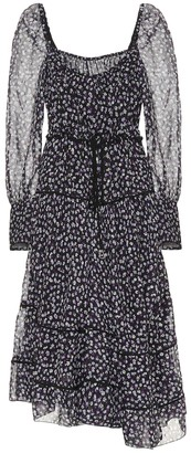 Altuzarra Floral silk-blend midi dress