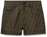 Fendi - Logo-Jacquard Shorts