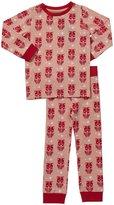 Little Green Radicals Pyjamas (Toddler/Kids) - Coral-2-3 Years
