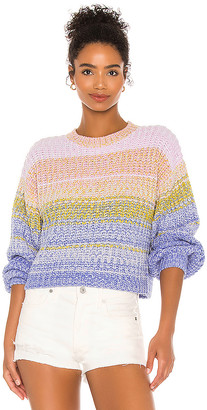 525 Mixed Marl Pullover Sweater
