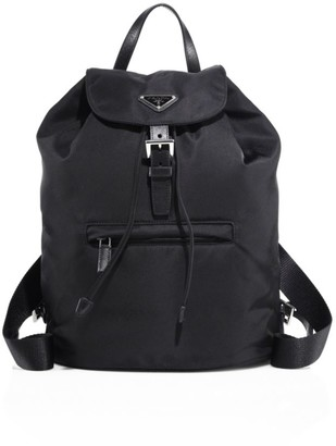 Prada Small Nylon Backpack