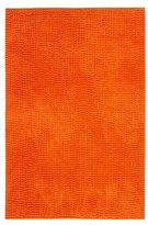 Ikea TOFTBO Microfiber Bath Mat - 35 x 24 | 1.25 Thick - Ultra Soft Super Absorbent Fast Dry (1, Orange)