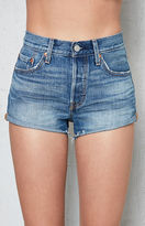 Levi's 501 Blue Explorer Denim Shorts