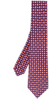 Kiton square flower spot tie - men - Silk - One Size