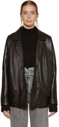 Alberta Ferretti Leather Jacket