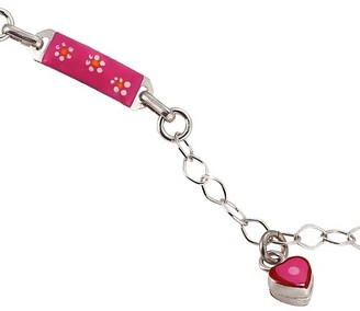Scout Children's Jewellery 925 Sterling Silver Armband 16 cm incl. 2cm Extension 3 Pendant Hand Enamelled