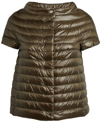 Herno Margherita Short-Sleeved Puffer Jacket