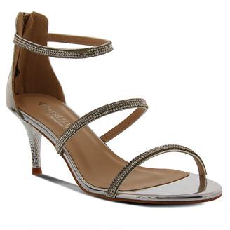 Spring Step Patrizia By Patrizia by Women's Sandals SILVER - Silver Embellished Cleopatra Sandal - Women