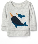 Gap Narwhal crew pullover