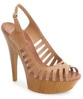 Jessica Simpson 'Finch' Platform Peep Toe Sandal