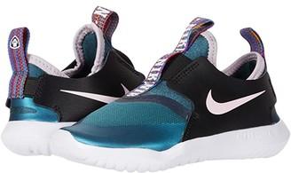 Nike Kids Flex Runner Flash (Infant/Toddler) (Ash Green/Pink Foam/Black/White) Girls Shoes