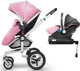 Silver Cross Surf Chrome Complete Travel System and Simplifix Base